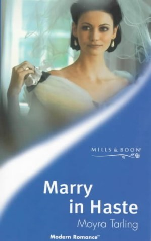 9780263820263: Marry in Haste (Modern Romance S.)