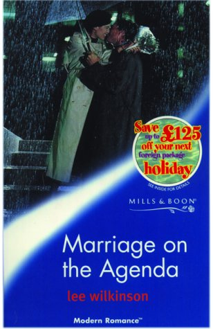 9780263825411: Marriage on the Agenda (Modern Romance)