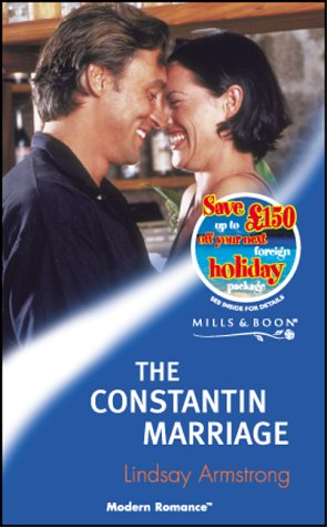 9780263829655: The Constantin Marriage (Mills & Boon Modern)
