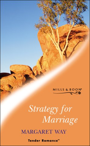 9780263830163: STRATEGY FOR MARRIAGE (TENDER ROMANCE S.)