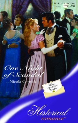9780263839807: One Night of Scandal (Historical Romance)
