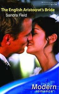 9780263841565: The English Aristocrat's Bride (Modern Romance)