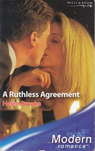 9780263847802: A Ruthless Agreement