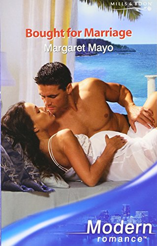 9780263848632: Bought for Marriage (Mills & Boon Modern)
