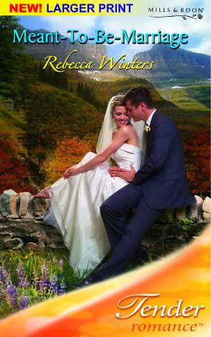 9780263848908: Meant-to-Be Marriage (Tender Romance)