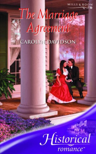 9780263851618: The Marriage Agreement (Historical Romance) (Historical Romance)