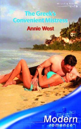 9780263852899: The Greek's Convenient Mistress (Modern Romance)