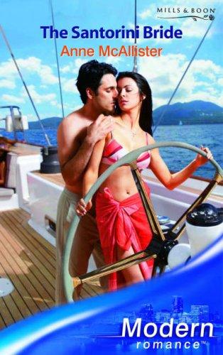 The Santorini Bride (Modern Romance) (0263852989) by Anne McAllister