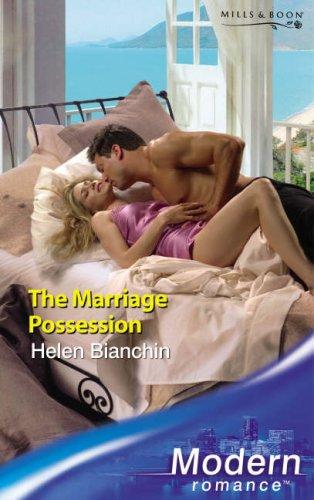 9780263853087: The Marriage Possession (Modern Romance) (Modern Romance)