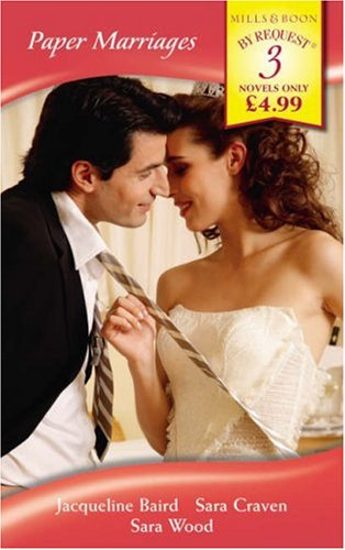 9780263861341: Paper Marriages (Mills & Boon by Request)