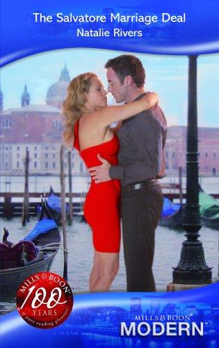 9780263864205: The Salvatore Marriage Deal (Modern Romance)