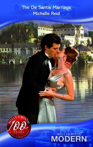 9780263864564: The De Santis Marriage