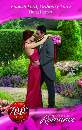 9780263864977: English Lord, Ordinary Lady (Mills & Boon Romance)