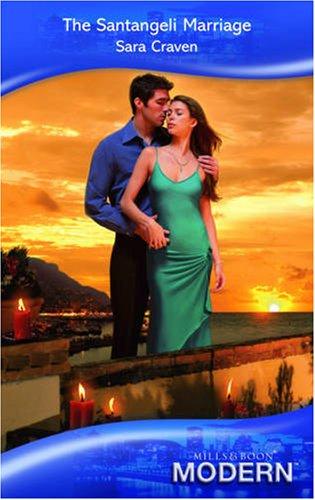 9780263869897: The Santangeli Marriage