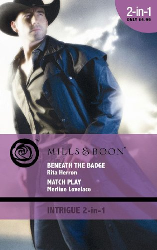 9780263873306: Beneath the Badge: AND Match Play (Mills & Boon Intrigue)