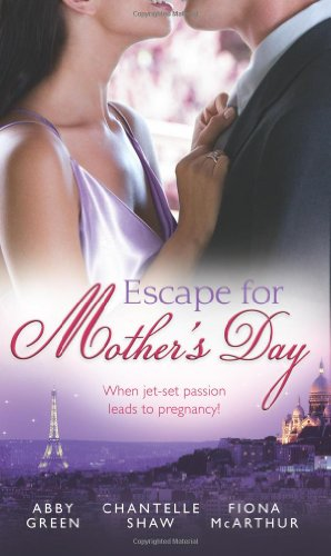 9780263897517: Escape for Mother's Day (Mills & Boon Special Releases)