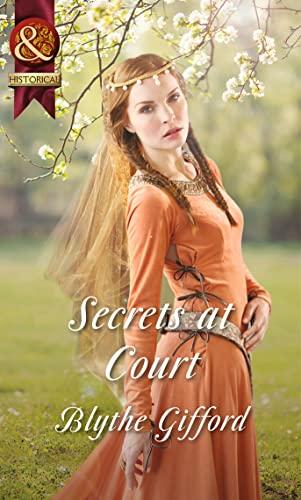 9780263909463: Secrets at Court