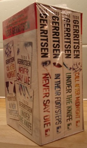 9780263995503: Tess Gerritsen Boxset: Call After Midnight; Under the Knife; in Their Footsteps; and Never Say Die