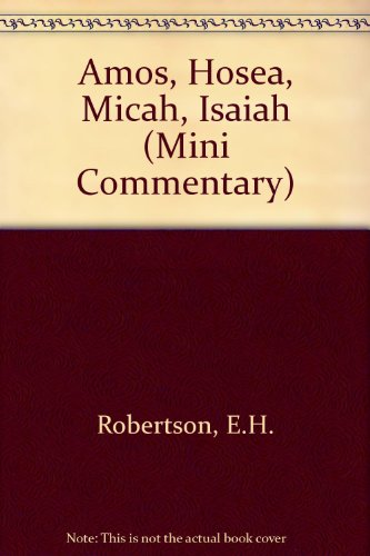 compare amos and hosea What every christian should know about amos and hosea rolf a jacobson he north american church is mired in a crisis of biblical illiteracy every recent.
