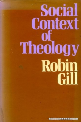 9780264660196: Social Context of Theology