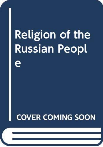 9780264662992: Religion of the Russian People