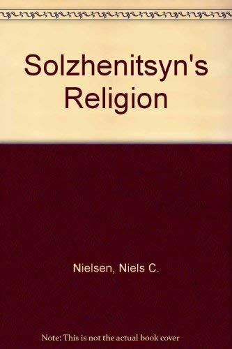 9780264663685: Solzhenitsyn's Religion