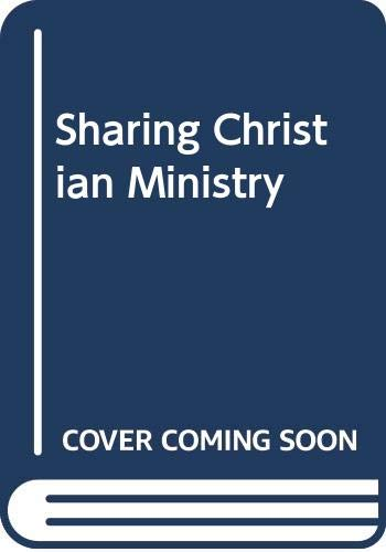 9780264667560: Sharing Christian Ministry