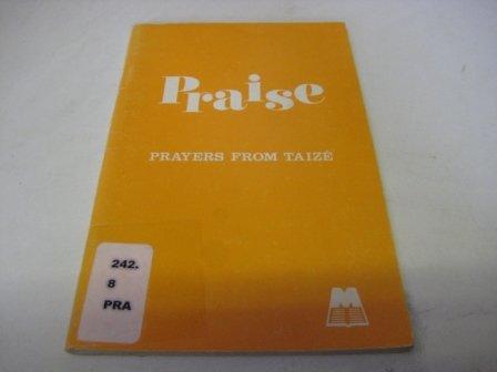 9780264669694: Praise: Prayers from Taize