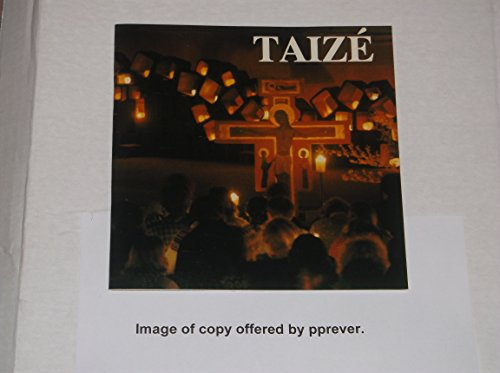 9780264672298: Taize: Trust, Forgiveness, Reconciliation