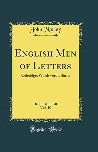 English Men of Letters, Vol. 10: Coleridge;: Morley, John