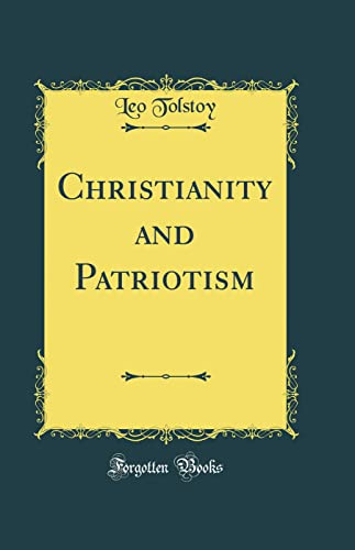 9780265568163: Christianity and Patriotism (Classic Reprint)
