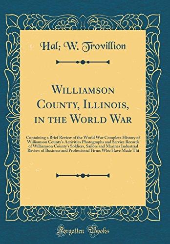 Williamson County, Illinois, in the World War: Trovillion, Hal W.