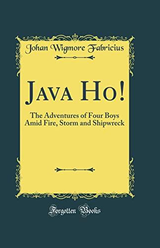 Java Ho!: The Adventures of Four Boys: Johan Wigmore Fabricius
