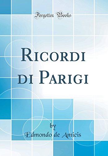 9780266356103: Ricordi di Parigi (Classic Reprint)