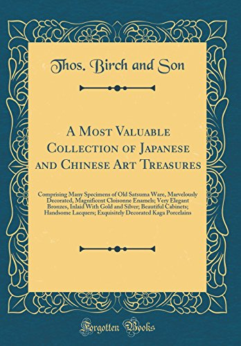 A Most Valuable Collection of Japanese and: Thos Birch and