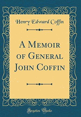 9780267826162: A Memoir of General John Coffin (Classic Reprint)