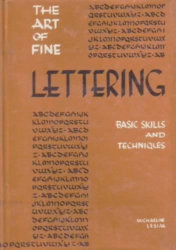 9780268000141: The Art of Fine Lettering