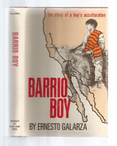 9780268004408: Barrio Boy: The Story of a Boy's Acculturation