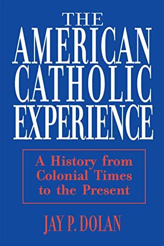 9780268006396: American Catholic Experience: Theology