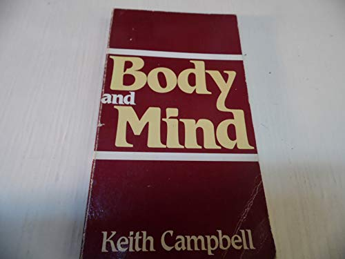 9780268006594: Body and Mind