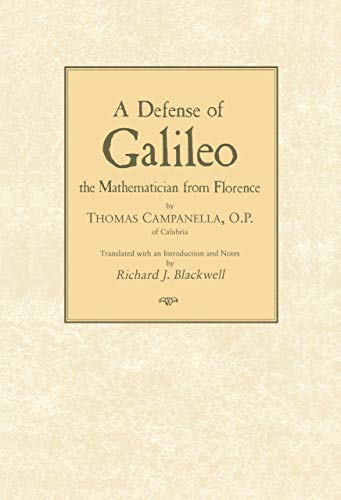 9780268008697: Defense of Galileo: The Mathematician from Florence