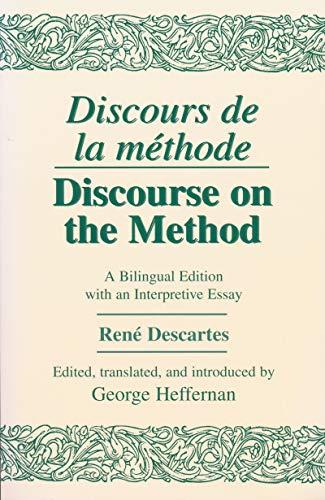 Discourse De LA Methode-Discourse on the Method: Rene Descartes
