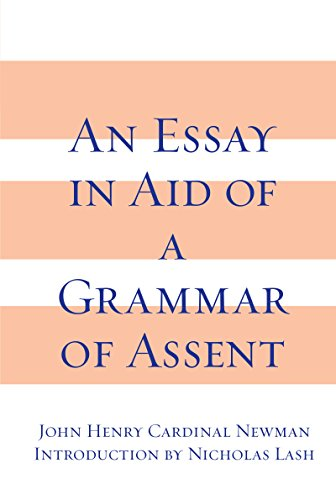 9780268010003: Essay in Aid of a Grammar of Assent
