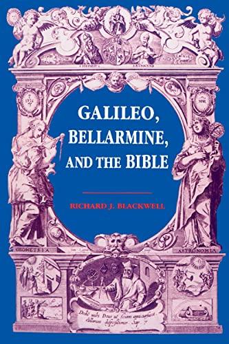 9780268010249: Galileo, Bellarmine, and the Bible
