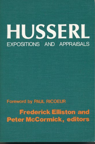 9780268010645: Husserl: Expositions and Appraisals
