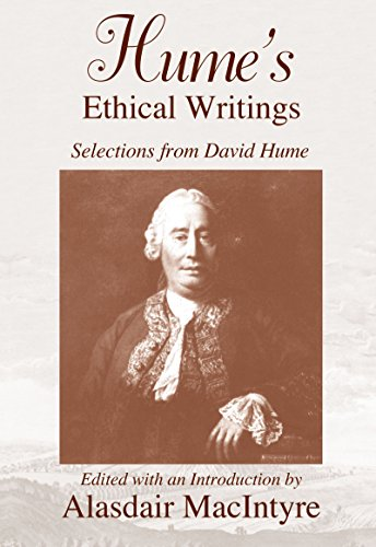 9780268010737: Humes Ethical Writings: Philosophy: Selections from David Hume
