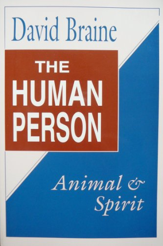 9780268011062: The Human Person: Animal and Spirit