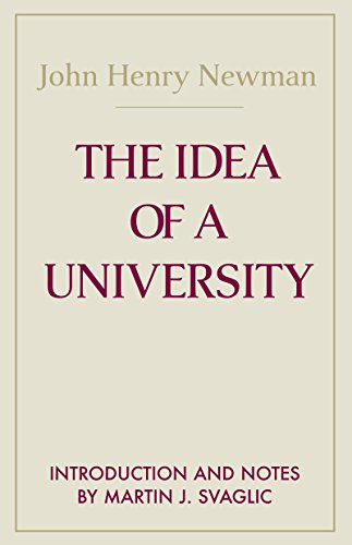 9780268011505: The Idea of A University (Notre Dame Series in the Great Books)