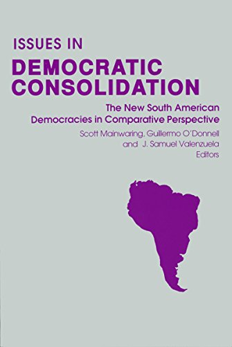 9780268012106: Issues in Democratic Consolidation: The New South American Democracies in Comparative Perspective