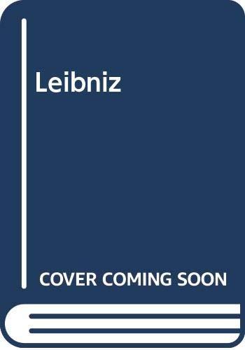 9780268012588: Leibniz: A collection of critical essays
